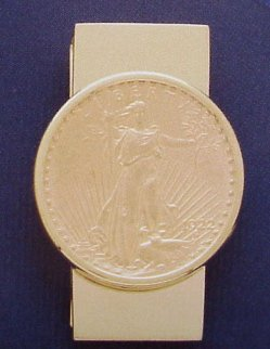 Traditional $20 Double Eagle Money Clip