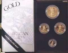 [American Gold Eagle Proof Coins (most dates)]