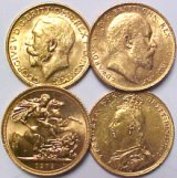 [British Gold Sovereigns]