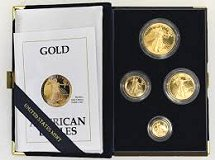 [American Gold Eagle<p>Proof Coins]