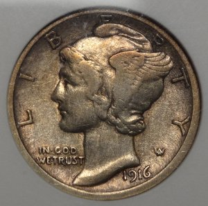 A scarce dime in any condition!