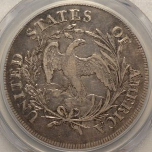 (reverse)Early 1797 Sm. Eagle Rev. Bust Dollar PCGS